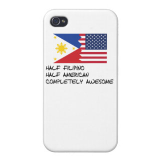 Half Filipino Completely Awesome iPhone 4 Covers