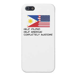 Half Filipino Completely Awesome iPhone 5/5S Covers