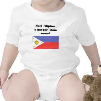 Half Filipino Is Better Than None Baby Creeper