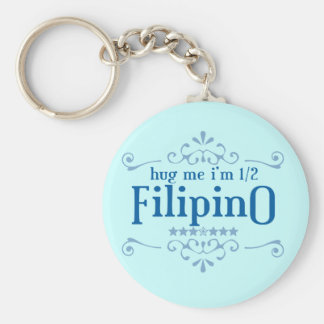 Half Filipino Key Chains