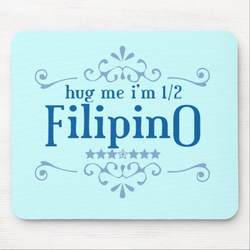 Half Filipino Mousepad