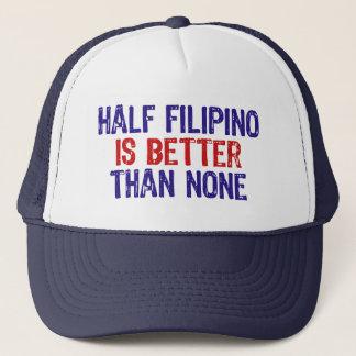Half Filipino Trucker Hat