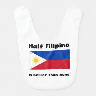Half Filipino Baby Bib