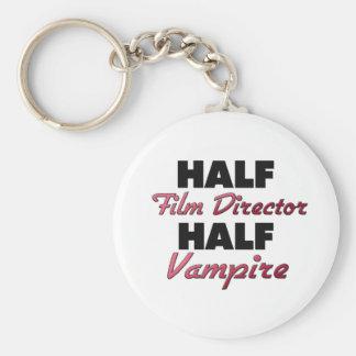 Half Film Director Half Vampire Key Chains