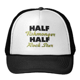 Half Fishmonger Half Rock Star Mesh Hat