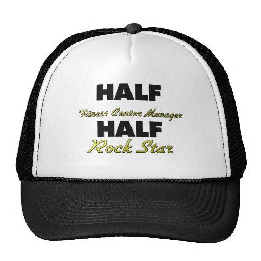 Half Fitness Center Manager Half Rock Star Mesh Hat