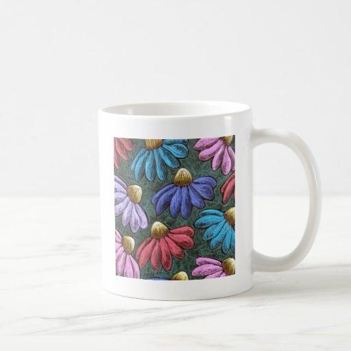 half flowers mugs