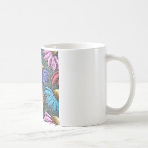 half flowers mug