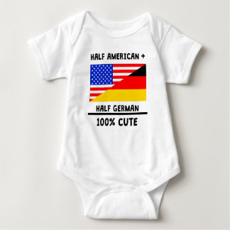 Half German 100% Cute Baby Bodysuit
