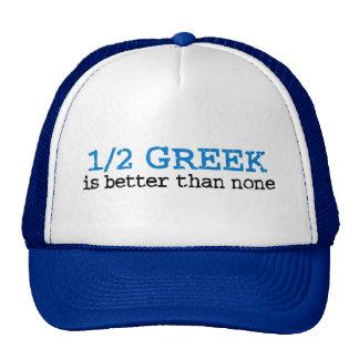 Half Greek Trucker Hats