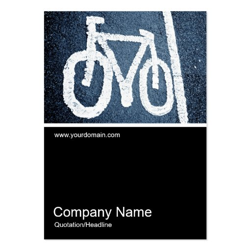 Half&Half Photo 069 - Road Bike Pack Of Chubby Business Cards
