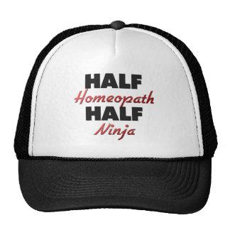 Half Homeopath Half Ninja Mesh Hats
