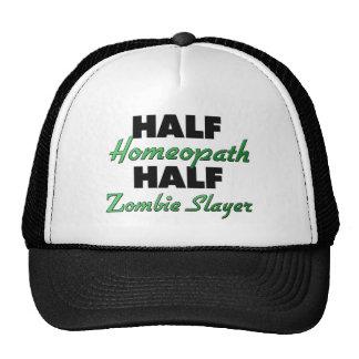 Half Homeopath Half Zombie Slayer Mesh Hats