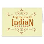 Half Indian Card