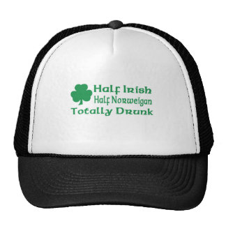 Half Irish Half Norweigan Totally Awesome Hat