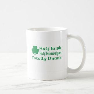 Half Irish Half Norweigan Totally Awesome Mugs