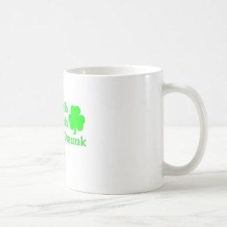 Half Irish Half Polish Totally Drunk Mug
