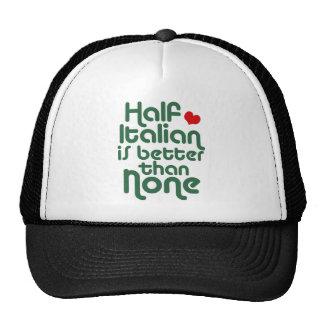 Half Italian Trucker Hat