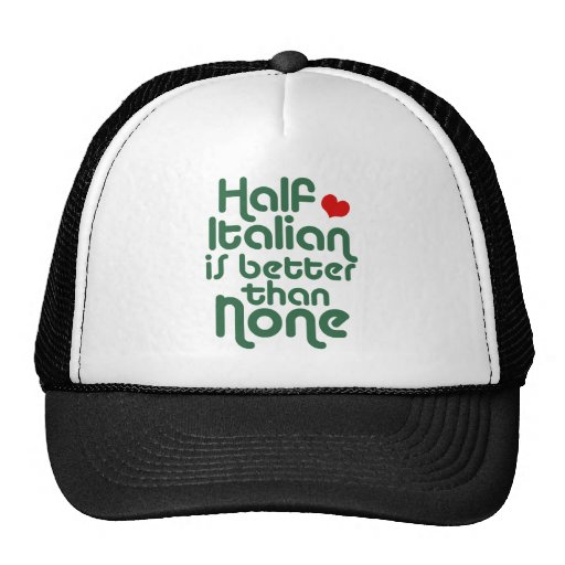 Half Italian Mesh Hats