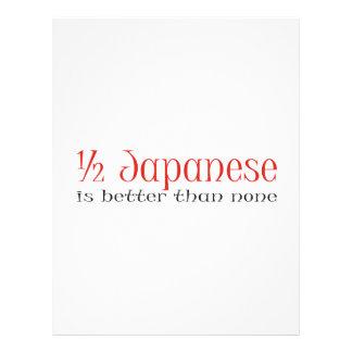 Half Japanese Full Color Flyer
