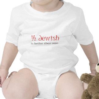Half Jewish Is Better Than None Bodysuit