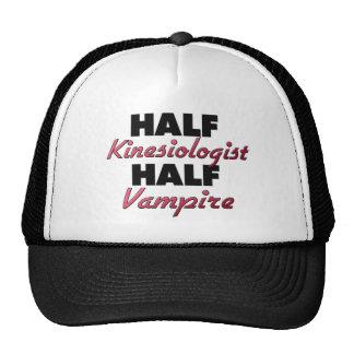 Half Kinesiologist Half Vampire Trucker Hat