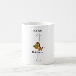 half man-horse coffee mug