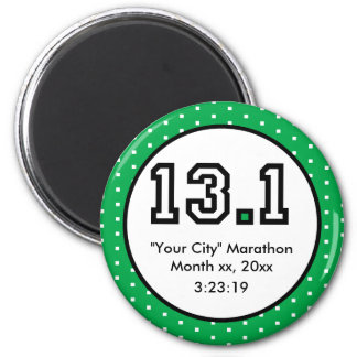 Half Marathon 13 1 Magnets