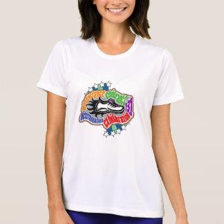 Half Marathon Micro Fiber T Shirt