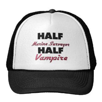 Half Marine Surveyor  Half Vampire Mesh Hats