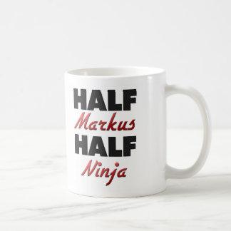 Half Markus Half Ninja Coffee Mugs