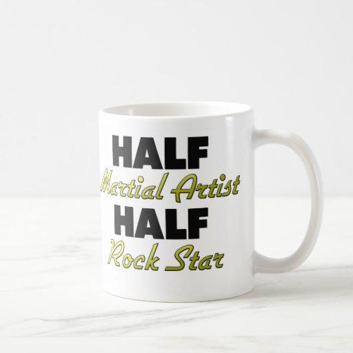Half Martial Artist Half Rock Star Coffee Mugs