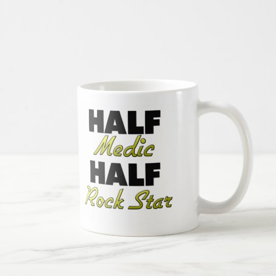 Half Medic Half Rock Star Coffee Mug