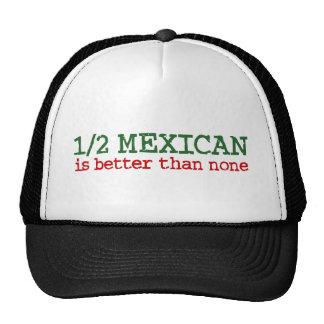 Half Mexican Trucker Hat