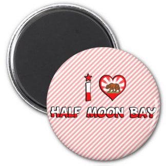 Half Moon Bay CA Refrigerator Magnets
