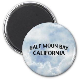 Half Moon Bay California Fridge Magnet
