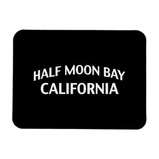 Half Moon Bay California Rectangular Photo Magnet