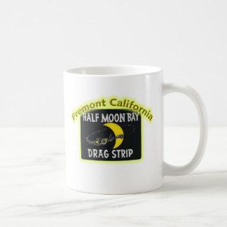 Half Moon Bay Dragstrip Basic White Mug