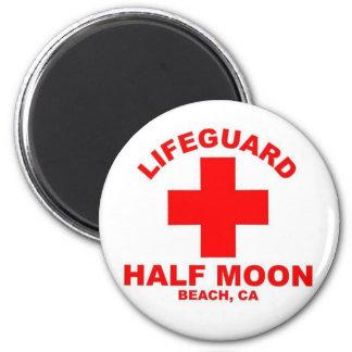 Half Moon Beach Magnets