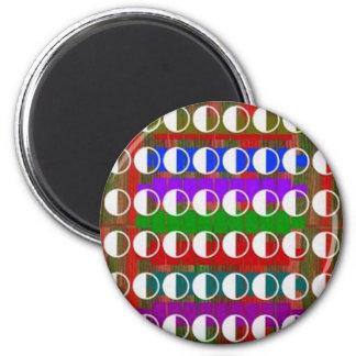 HALF MOON Beautiful Pattern Refrigerator Magnets