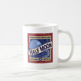 Half Moon Betta Coffee Mug