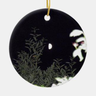 Half Moon Christmas Ornament