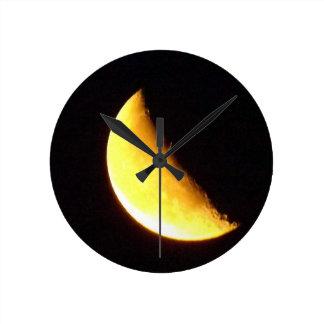 half moon clocks