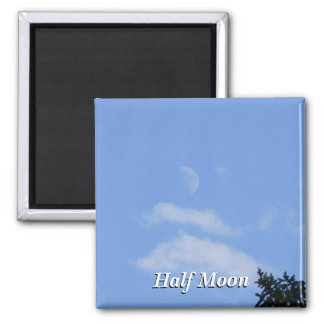 Half Moon Fridge Magnets