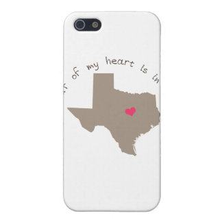 Half My Heart is in Texas iPhone 5 Cover