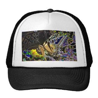 Half Neon Butterfly Cap