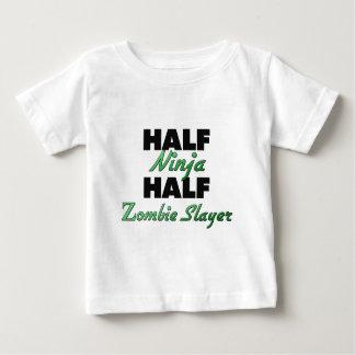 Half Ninja Half Zombie Slayer Baby T-Shirt