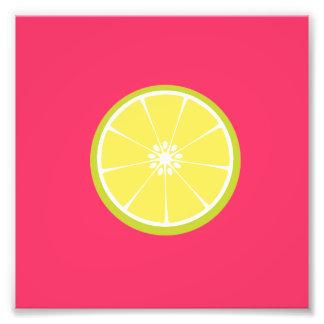 half of a lime art photo