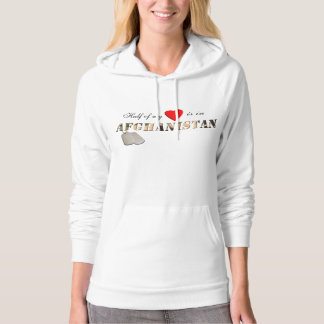 Half of my Heart is in Afghanistan Hoodie