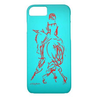 Half Pass: Turquoise iPhone 7 case